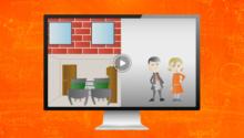 Häusliches Arbeitszimmer (Video)